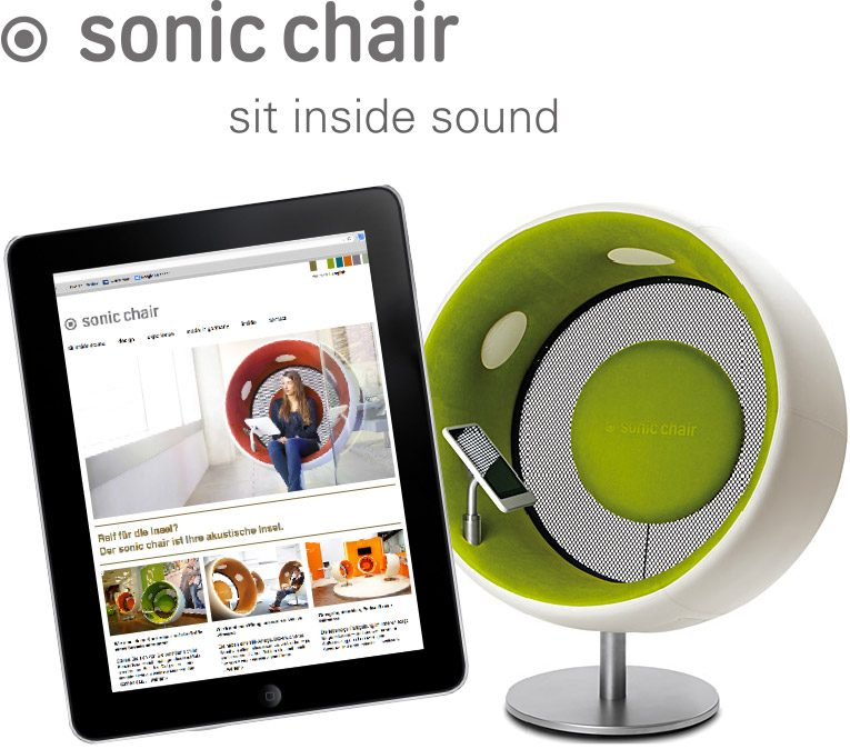 sit inside sound sonic chair designatics. Black Bedroom Furniture Sets. Home Design Ideas